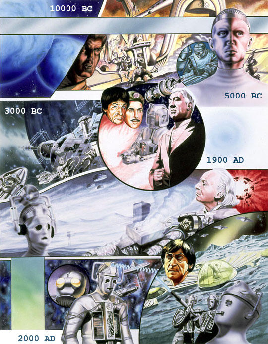 History of the Cybermen up to the year 2100