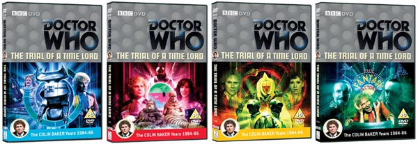 The Trial Of A Time Lord Box Set