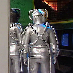Cyberman back