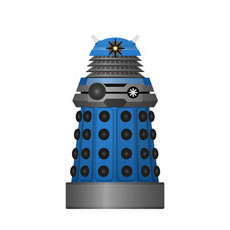 Blue Strategist Dalek