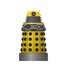 Yellow Eternal Dalek