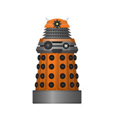 Orange Scientist Dalek