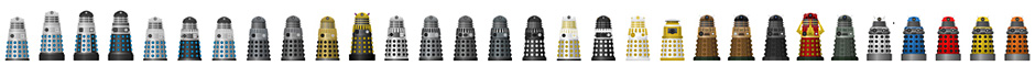 Colored Daleks