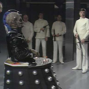 Terry Nation returned to write Genesis of the Daleks which introduced Davros as the Daleks creator