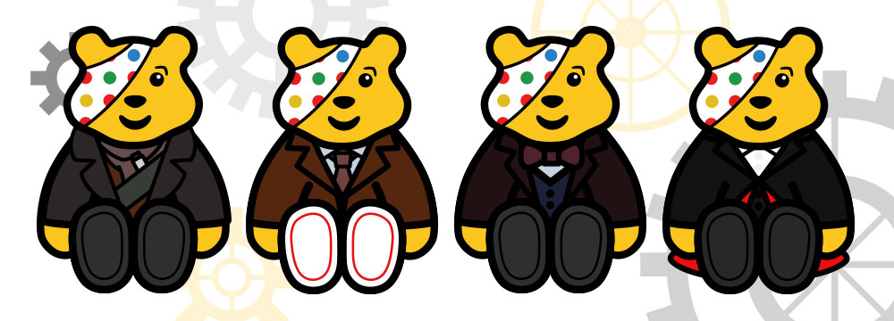 Doctor Who Pudsey Bears