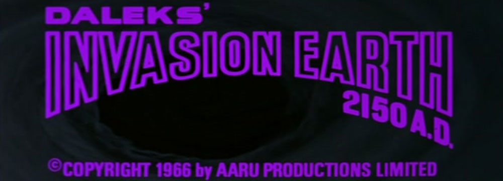 Daleks Invasion Earth 2150 AD - 1966 Movie