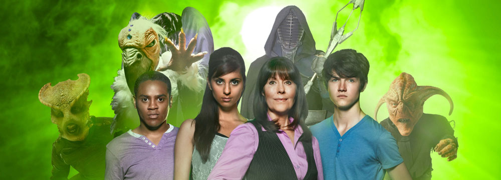 The Sarah Jane Adventures Team