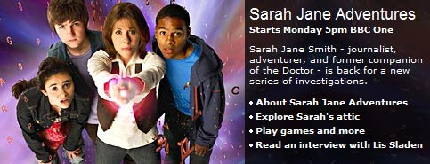 Sarah Jane Adventures Press Release