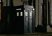 Dalek Movie Tardis