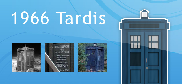 1966Tardis from Doctor Who