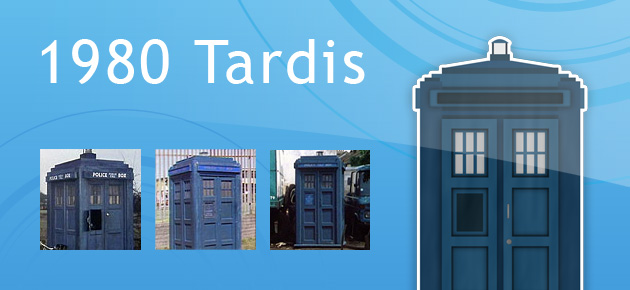 1980 Tardis from Doctor Who