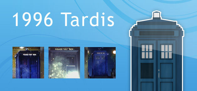 1996 Tardis from Doctor Who