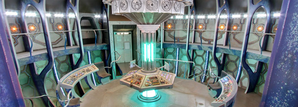 High Quality Series Seven TARDIS Console Room Design